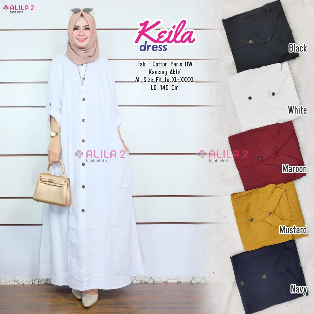 Review Model Baju Gamis Terbaru 2019 Wanita Bima Batik Dress