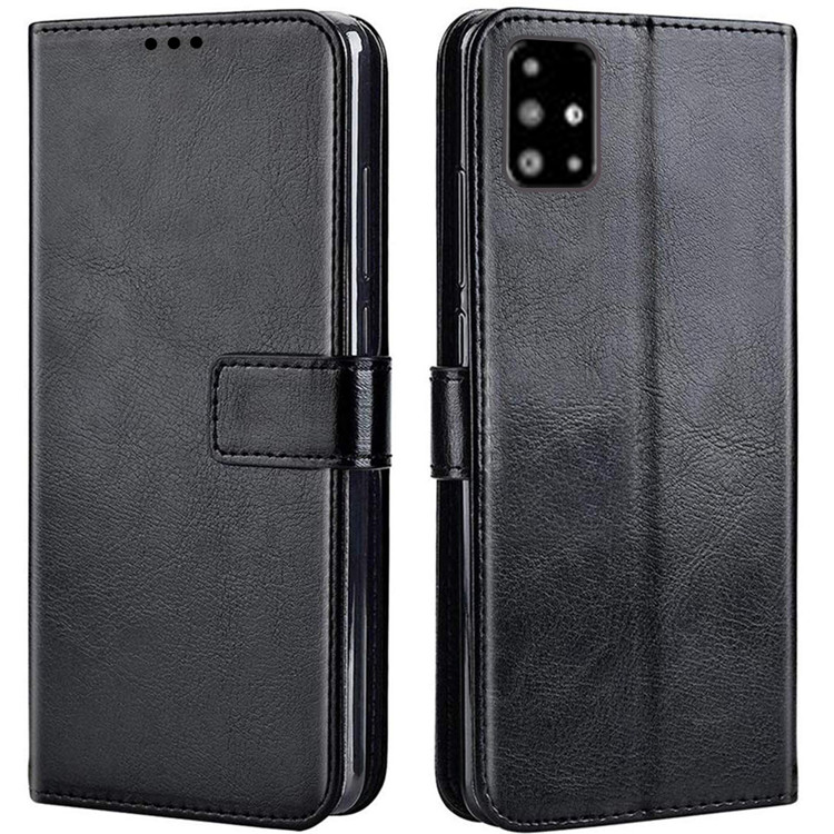 case wallet leather samsung a71 casing hp leather dompet kulit flip cover wallet samsung a71 flip case samsung a71