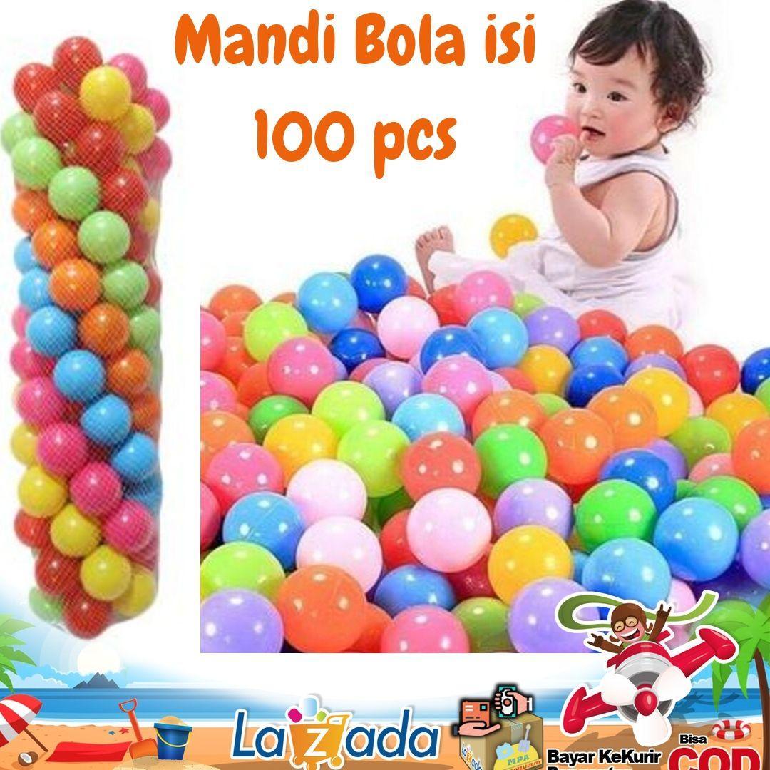 manbola isi 100 pcs / manbola anak / mainan bola anak