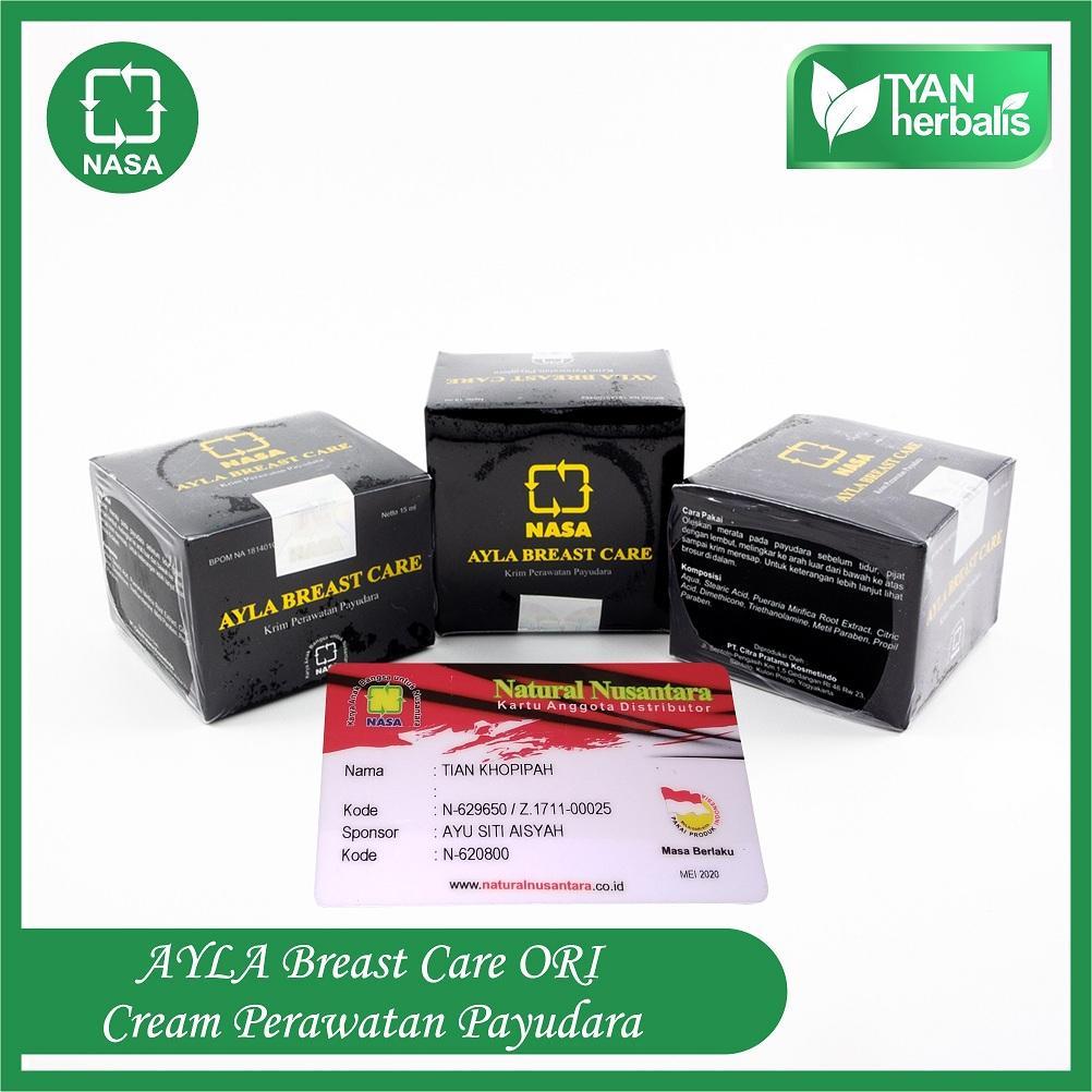 AYLA BREAST CARE - Krim / Cream Perawatan Payudara - (Pengencang & Pembesar) Payudara