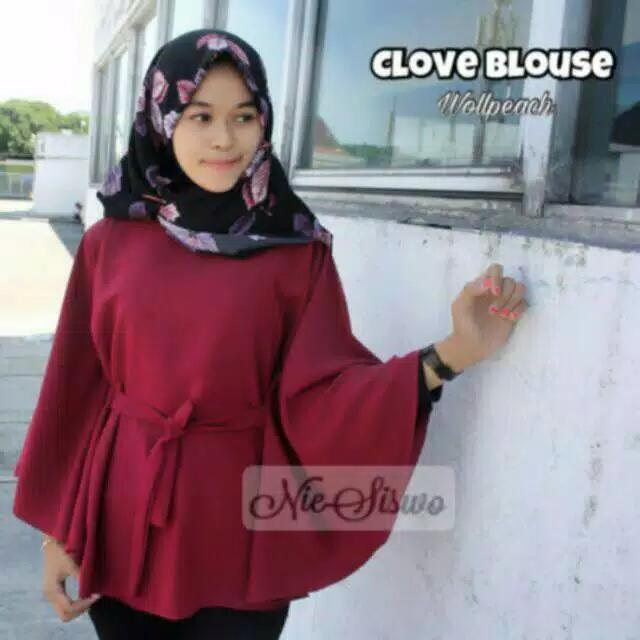 Xavier JUMBO XXL CLOVE / blouse jumbo / pakaian jumbo / baju XL XXL / blus