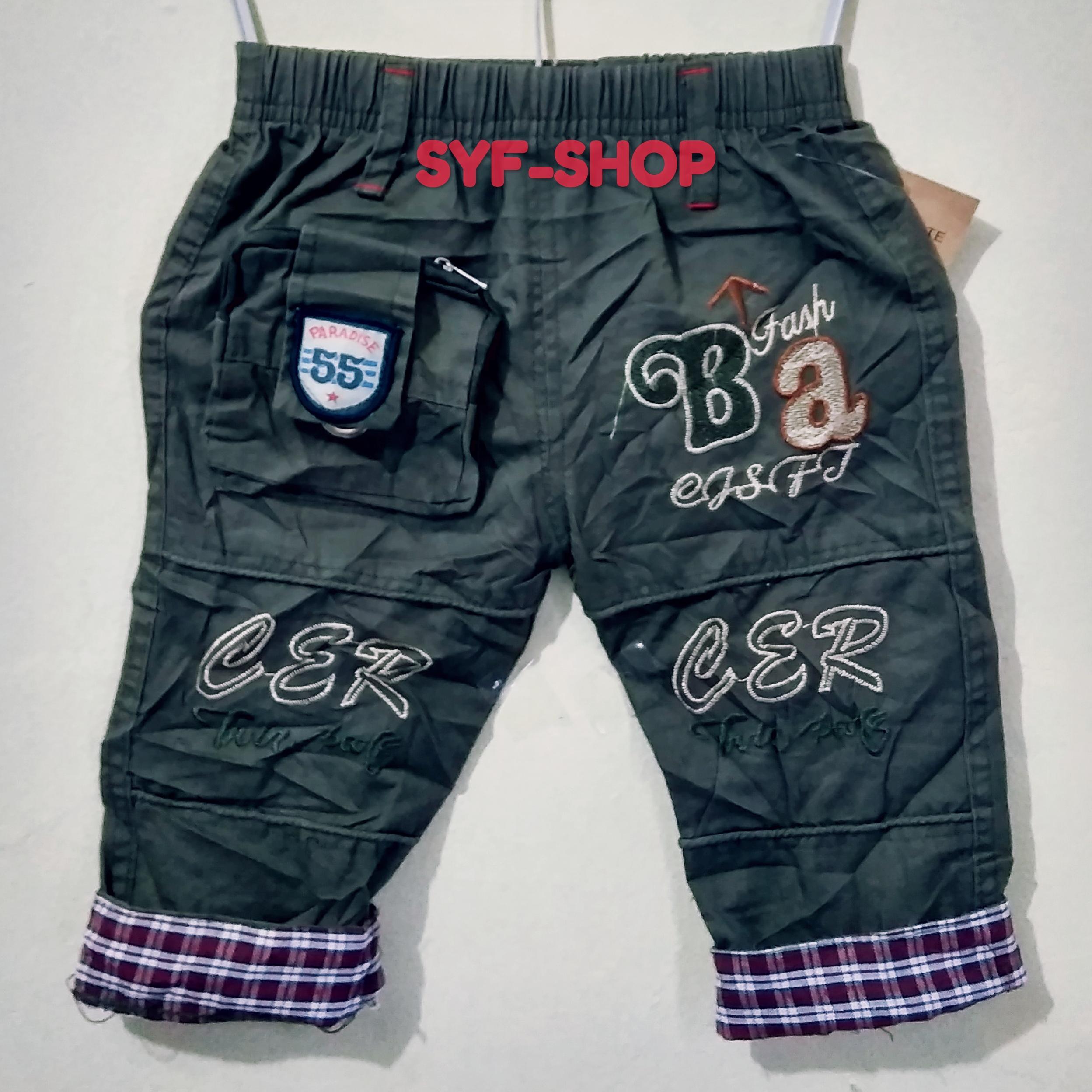 syf-shop celana panjang anak casual untuk usia 2-4-6-8thn