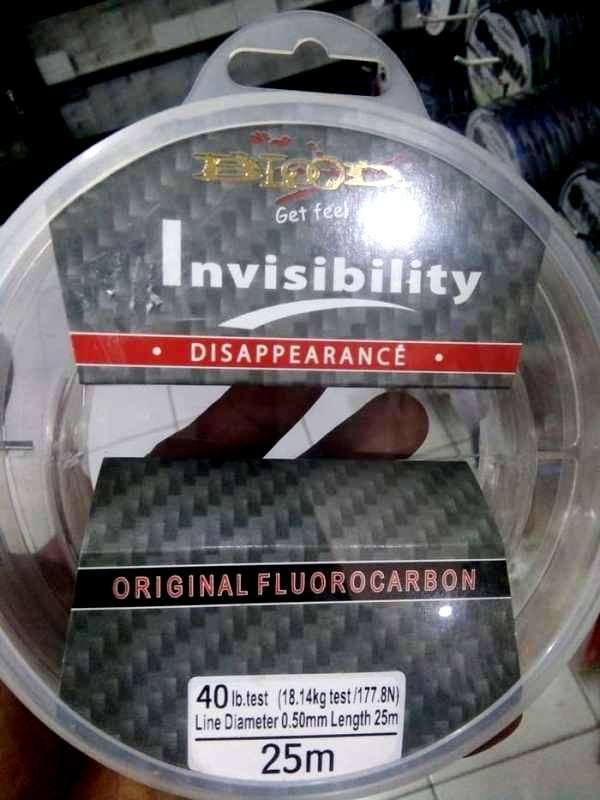 ... Senar Pancing Blood Invisibility Leader Fluorocarbon Material 25M - 5