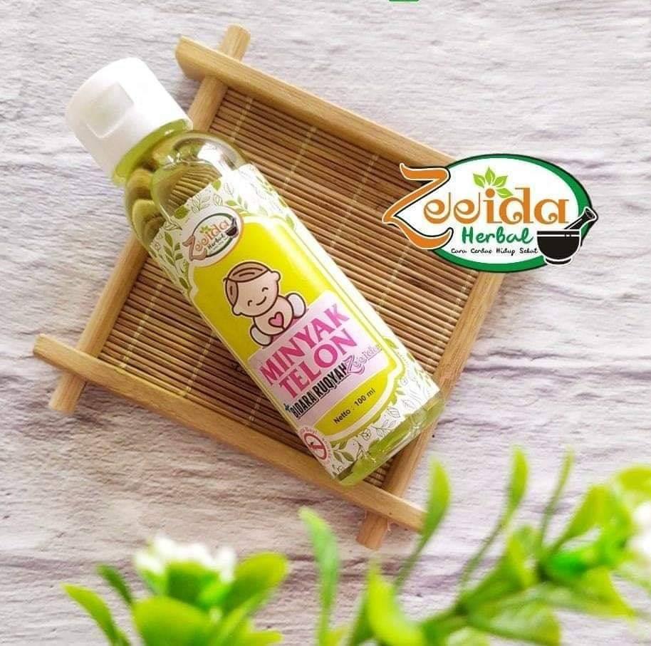 minyak telon bidara ruqyah  zeeida 100ml mengatasi masuk angin /perut kembung / melindungi bayi dari gangguan jin