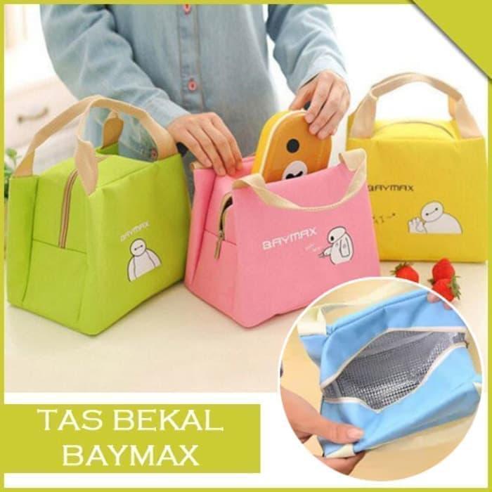 TAB - Tas Bekal Makan Motif Karakter Baymax Lunch Cooler Bag Insulated