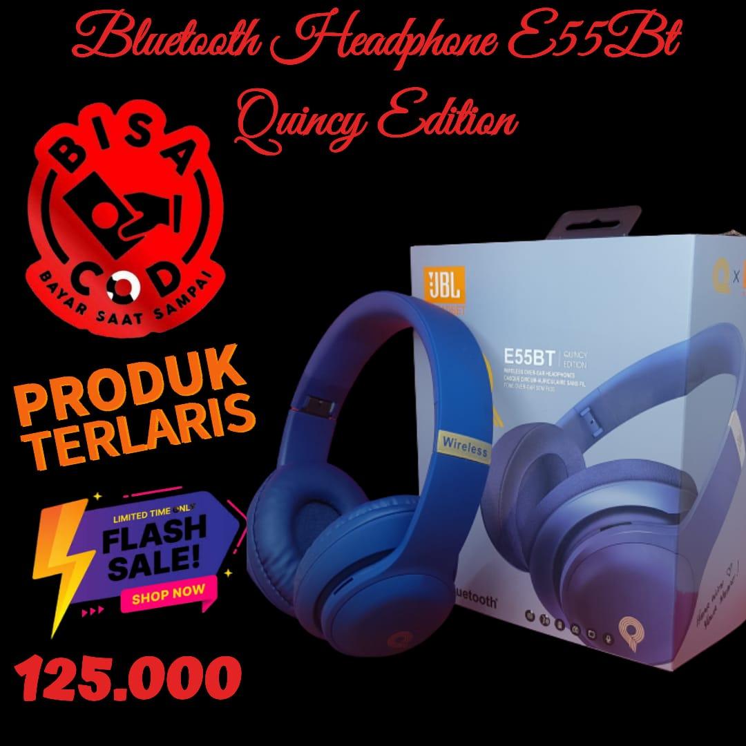 headphone bluetooth e55bt headset bluetooth bass