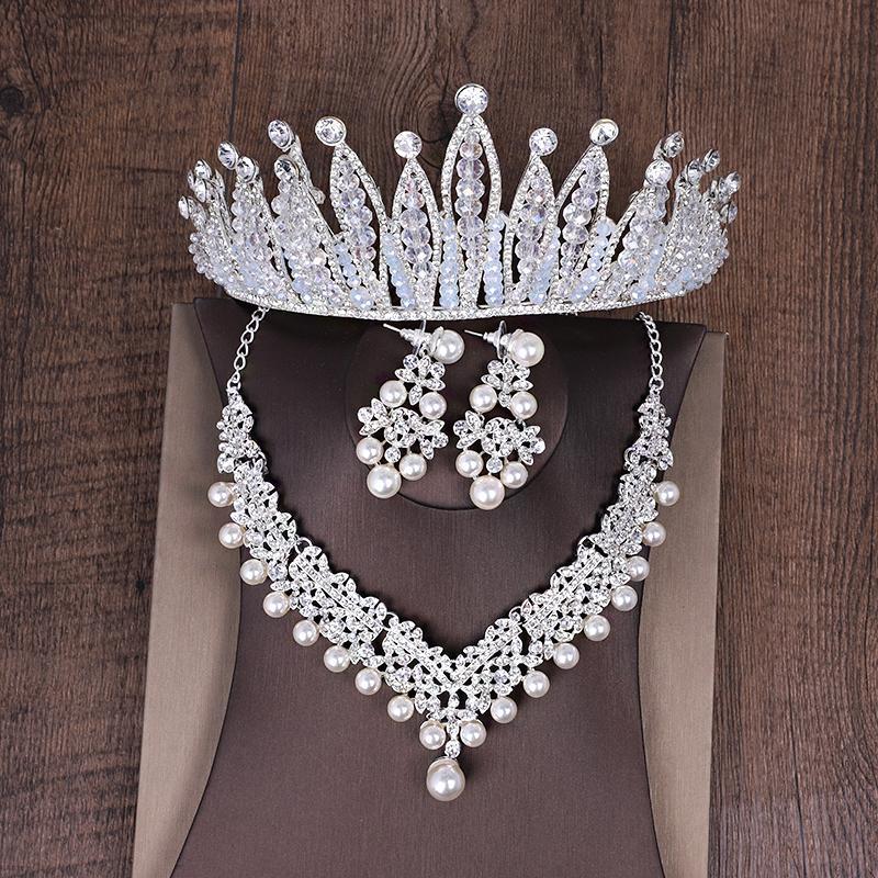 ... Pengantin wanita Gaun pengantin Asesoris kepala Aksesoris 1 paket/set isi 3 pcs BAROQUE DANISA ...
