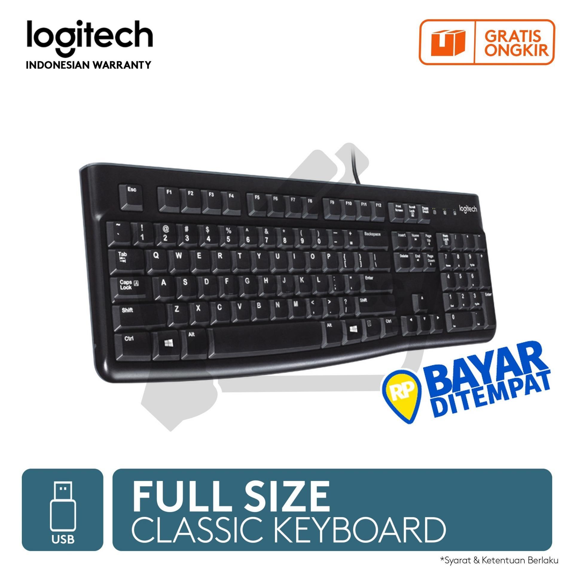 Detail Gambar Logitech Keyboard K120 - USB - Hitam Terbaru