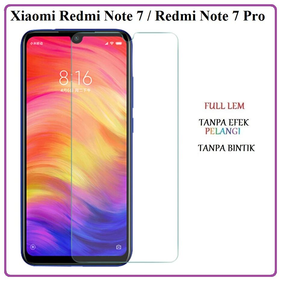 Tempered Glass Xiaomi Redmi Note 7 Redmi Note 7 Pro Anti Gores Kaca Premium