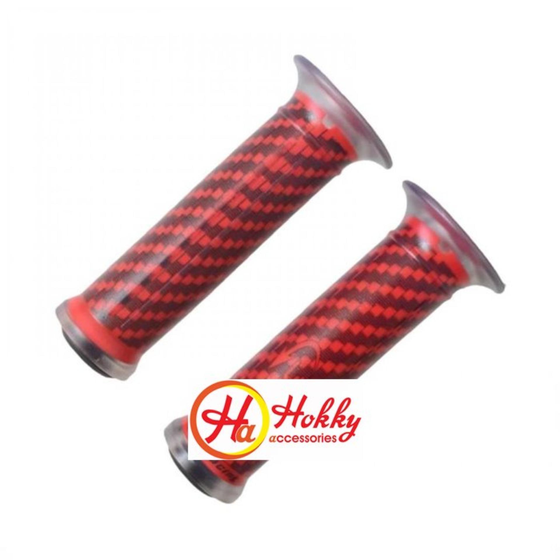 [promo]-handgrip motor kitaco -karet stang variasi motor not-mioninja.variobeatscopy-semua motor-red