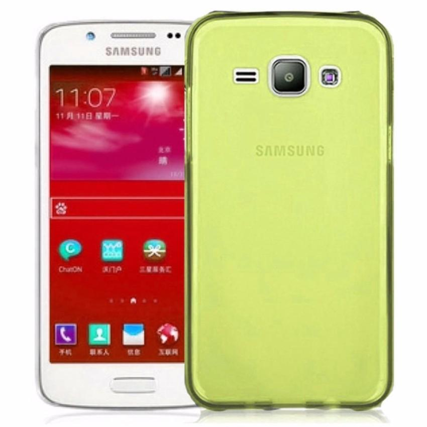 Qc Silicon Tpu Lentur Samsung Galaxy E5 E500 Gliter Softcase Softshell