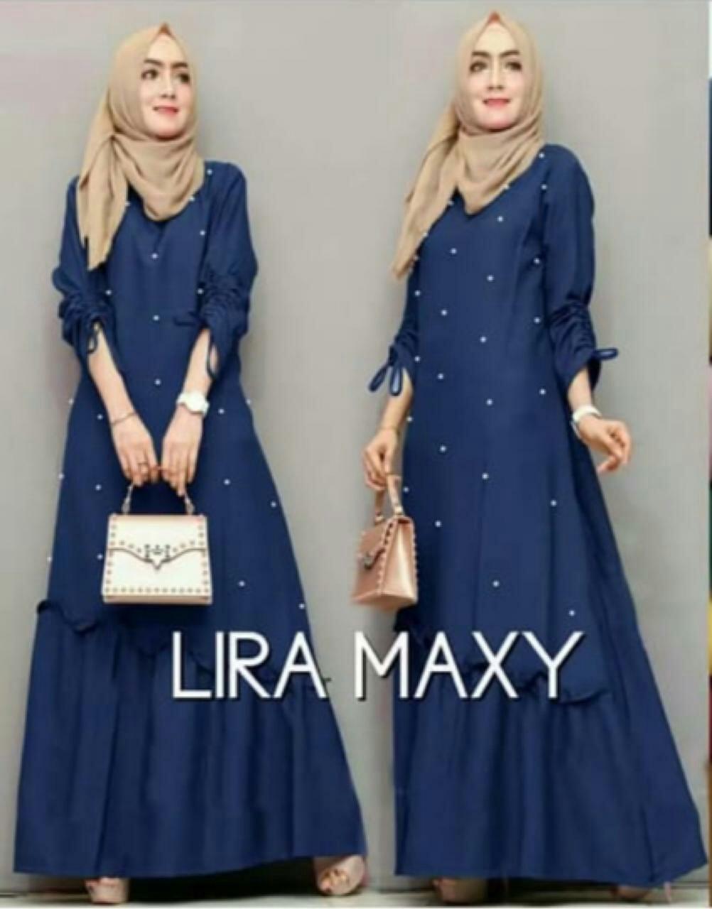 FJCO FJ MAXI SABYAN LIRA / Dress panjang wanita / Gamis / Fashion Muslimah