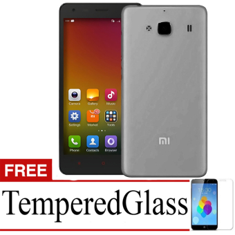 Best Seller Aircase Ultrathin For Xiaomi redmi 2s + Free Tempered Glass - Black Clear