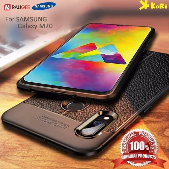 Case Auto Focus Leather Samsung Galaxy M20 2019 Leather Experience Slim Ultimate autofocus Casing Samsung m20