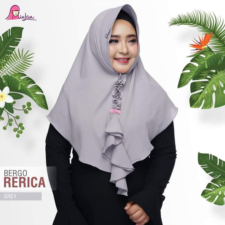Hijab jilbab Instan Syar i terbaru murah MIULAN - Bergo RERICA
