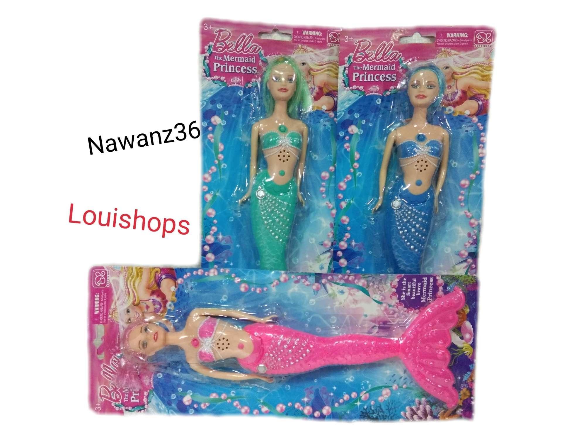 Review Mainan Boneka Putri Duyung Mermaid Princess Barbie