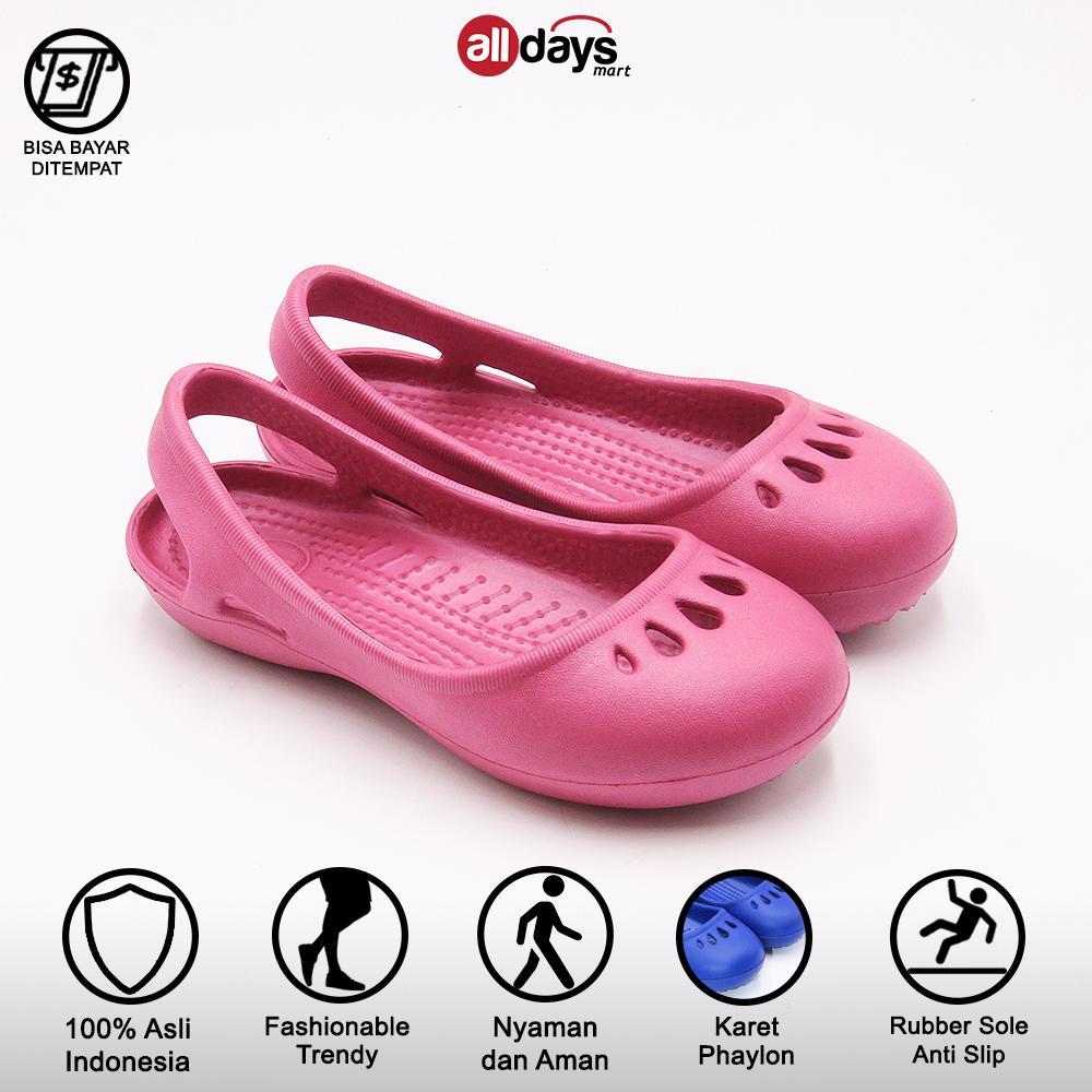porto sandal sepatu flat anak perempuan paylon 7001 g size 30-35