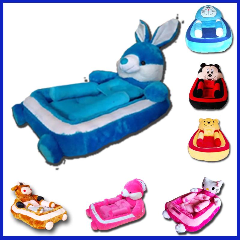 ar_toys kasur bayi lucu karakter kelinci