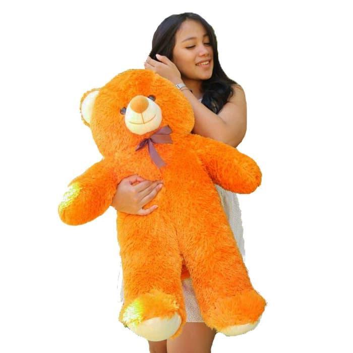 Boneka Beruang 80Cm Jumbo Teddy Bear Panda Murah 1Kg (Boneka AB 7014) 73a0ea0a52