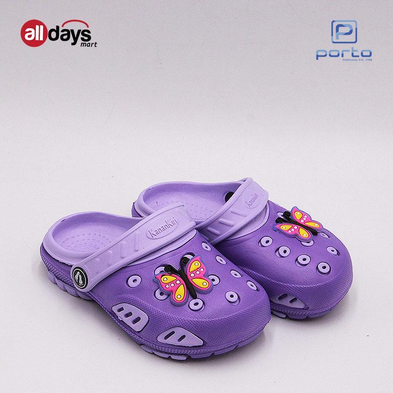 Kanan-Kiri Sandal Selop Anak Perempuan T5001-1 Size 19-24