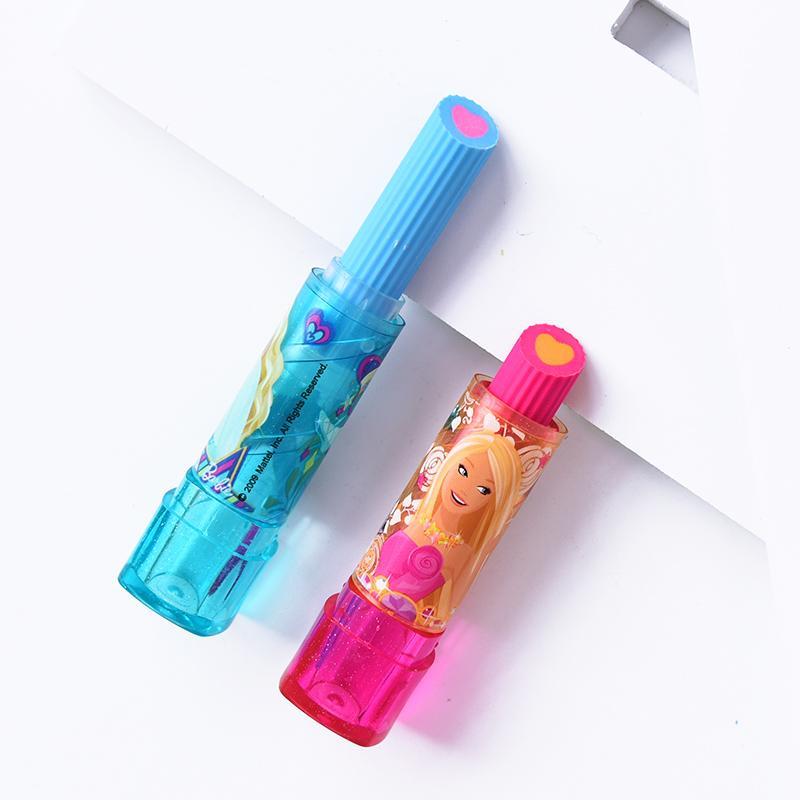 ... Barbie Lipstik penghapus anak-anak karet Imut Kartun kreatif Alat tulis belajar Barang siswa sekolah ...