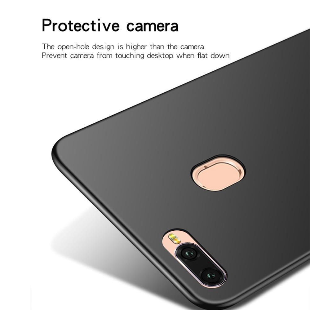 Review Case Super Slim Black Matte Oppo A7 2018 Baby Skin