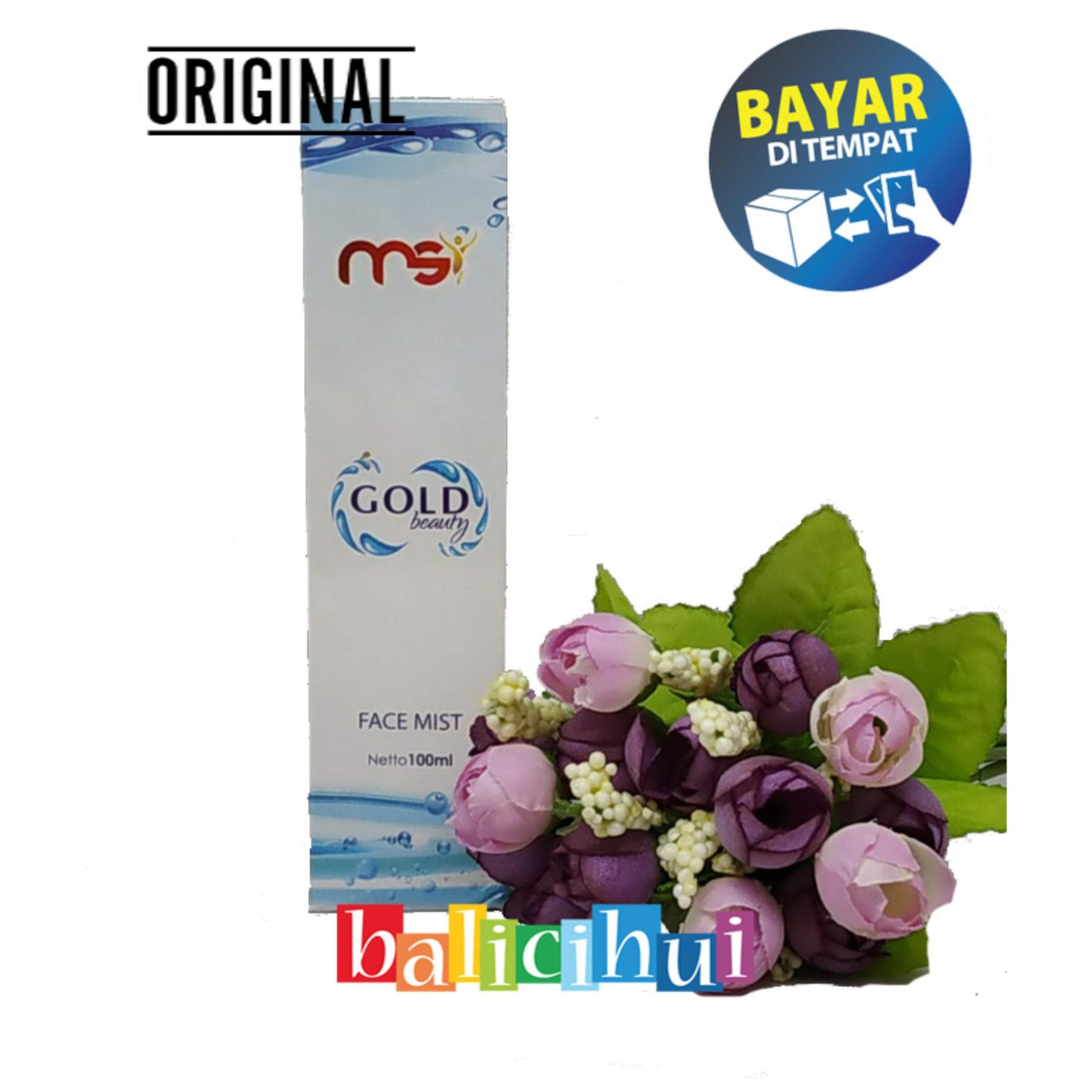 balicihui msi gold beauty face mist 100% original