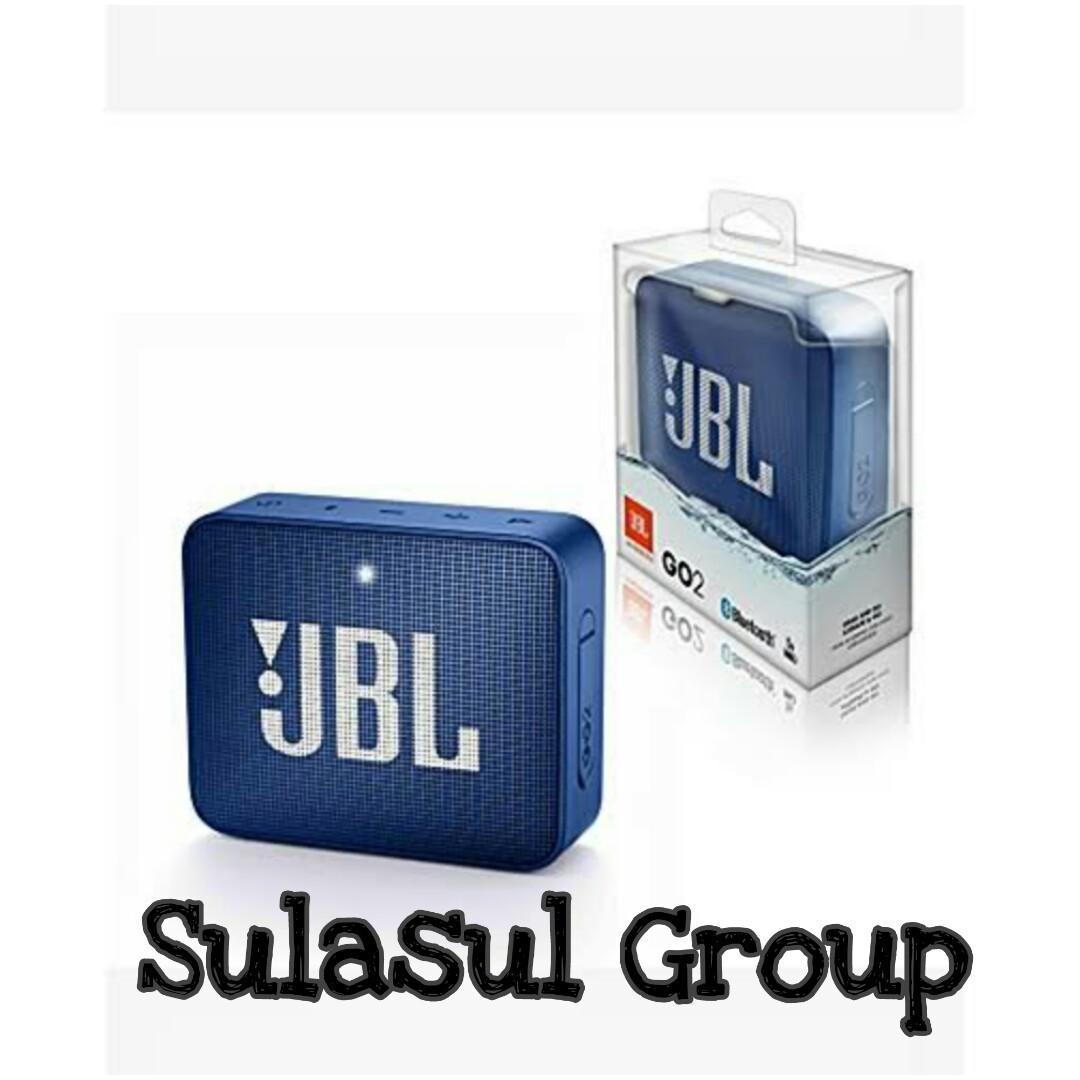 1 Tahun Garansi JBL Go 2 Portable Bluetooth Speaker