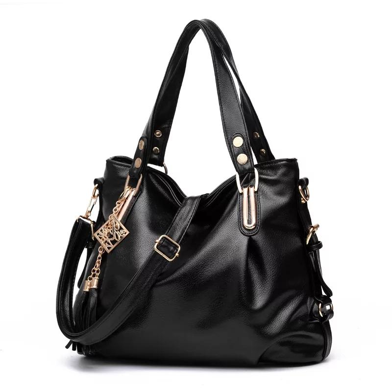 robinstore-asli kulit asli fashion crossbody bahu tas wanita besar kapasitas ember tas messenger wanita tas organizer wanita/tas impor batam/others