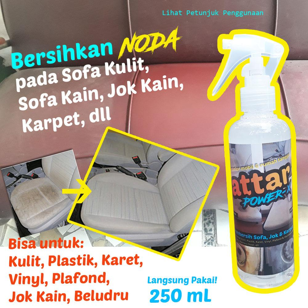 All Purpose Cleaner - ATTAR Power-X Pembersih SOFA Kain Jok Mobil Karpet - Serbaguna