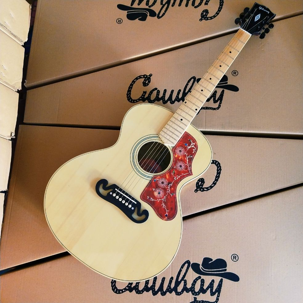 gitar gibson j200 jumbo quality top