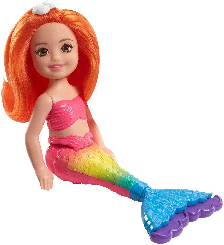 Review Barbie Chelsea Dreamtopia Mini Mermaid Mainan Boneka
