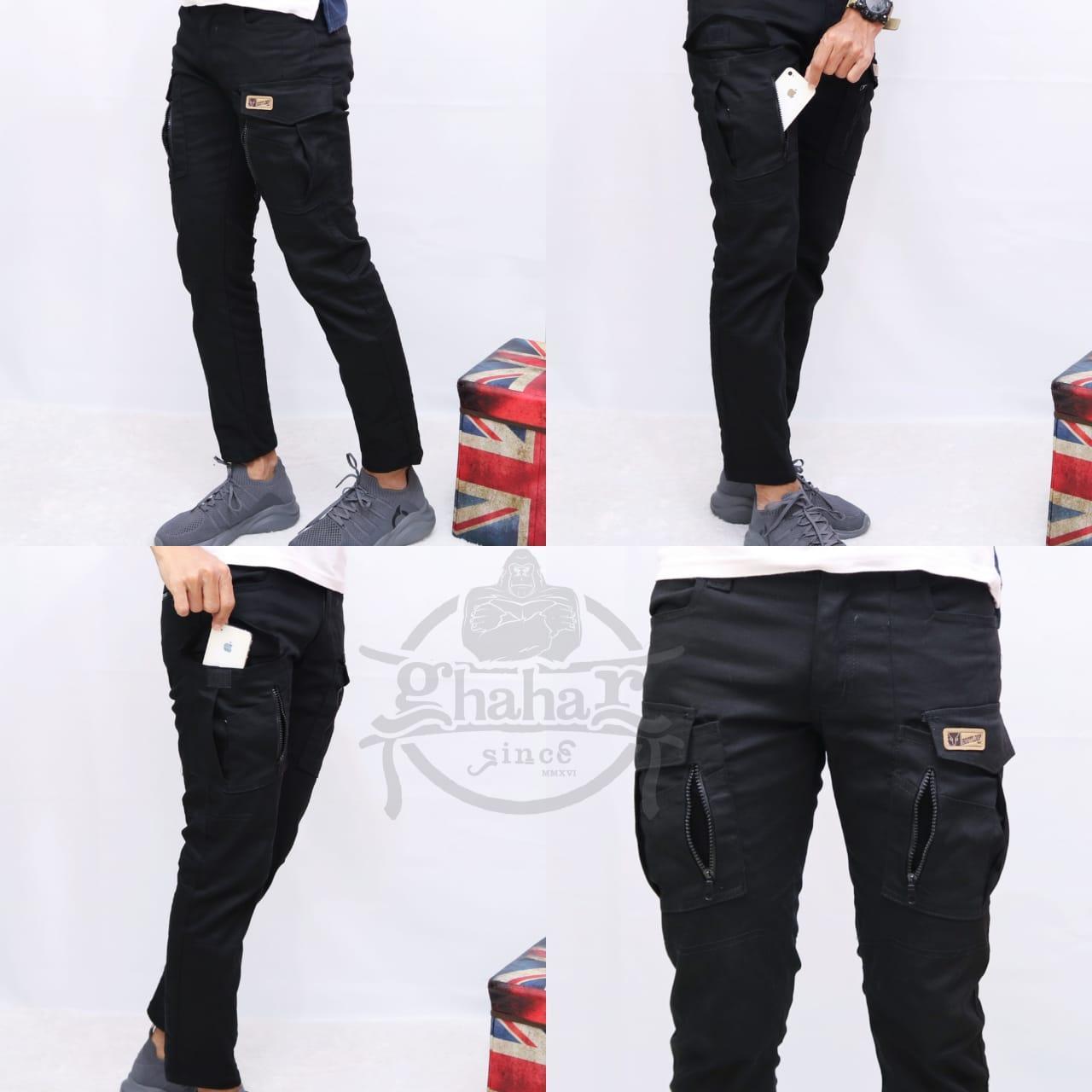 gh celana pria cargo panjang / pdl / celana gunung