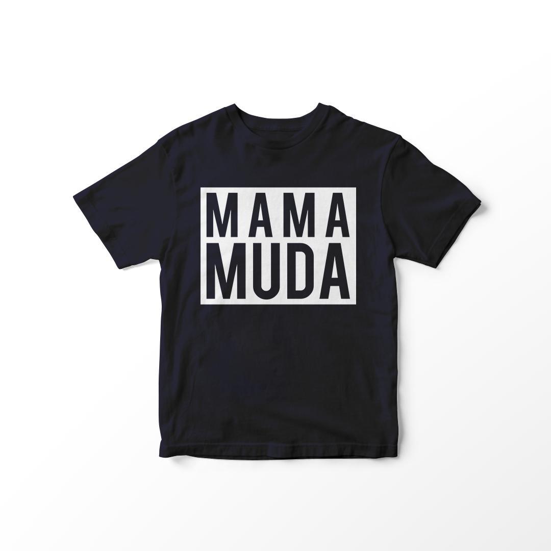 minara  – kaos baju t-shirt mama muda tumblr tee cewek cotton combad premium / kaos wanita / tshirt cewe/ kaos oblong / trending shirt
