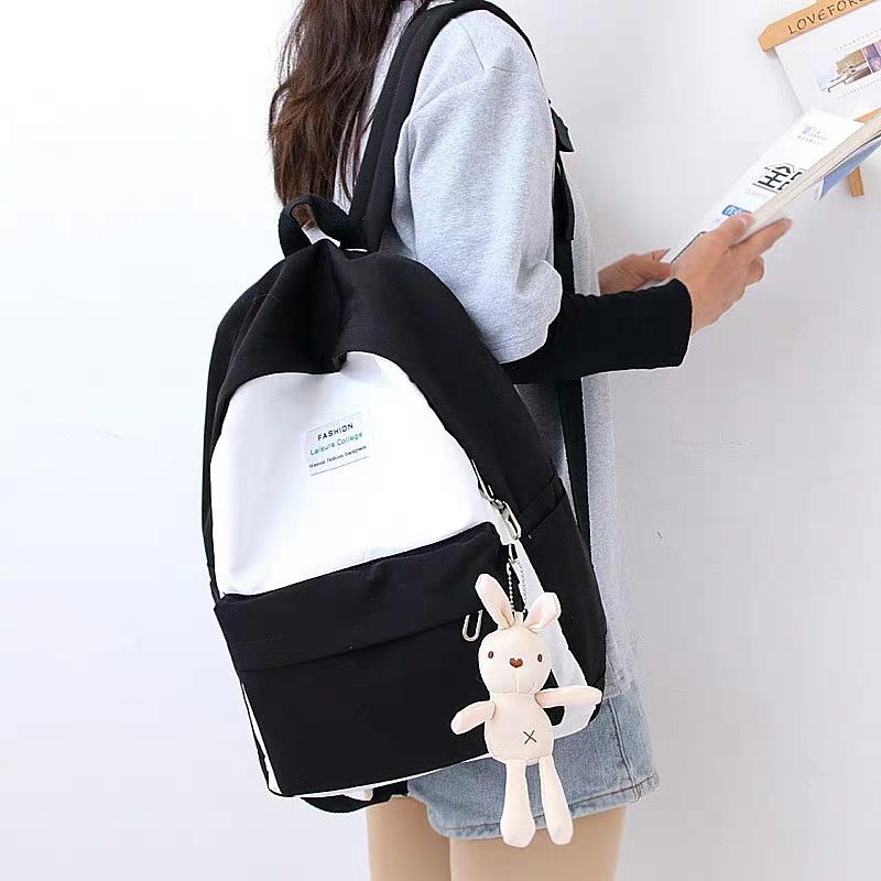 cod bisa bayar tempat new fashion tas ransel wanita gadis perempuan remaja kasual star bintang gaya korea  kekinian  2020