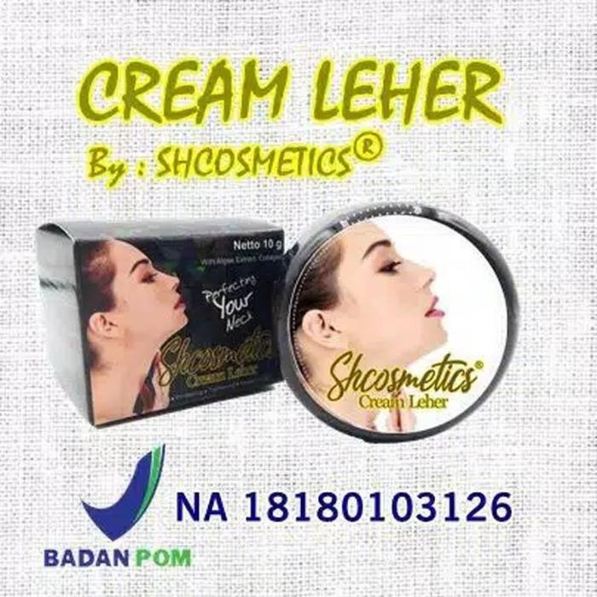 CREAM LEHER ORIGINAL BPOM BY SH COSMETICS - CREAM LEHER BPOM