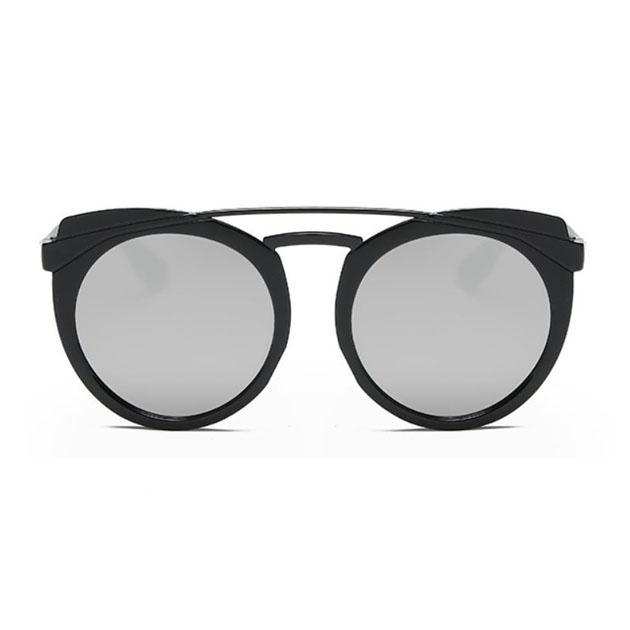 Detail Gambar OILA kacamata fashion wanita round frame sunglasses jgl081 Terbaru