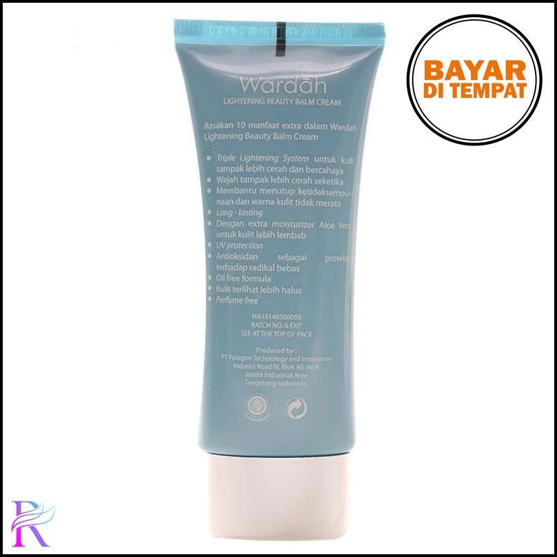 Detail Gambar Rimas Wardah BB Cream Lightening SPF 32 15ml Light Make Up Wajah Original Terbaru
