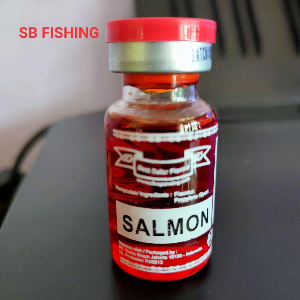 essen diva salmon – botol kecil – campuran umpan essen ikan mas
