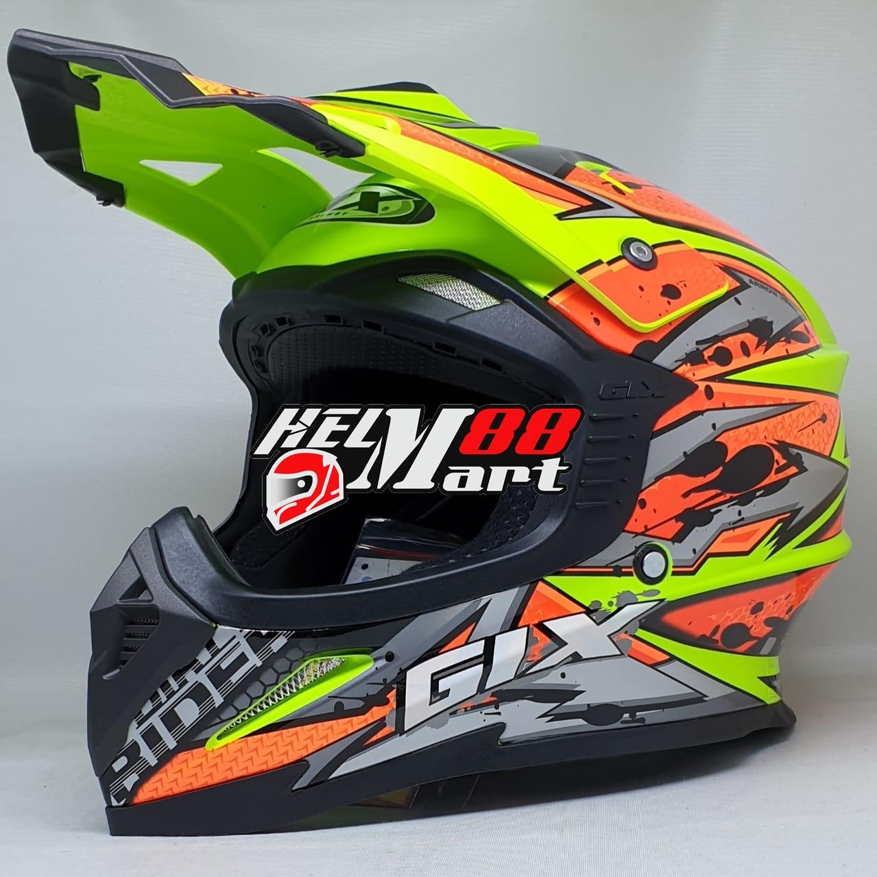 GIX Cross Arrowhead Helm Motocross Helm Supercross
