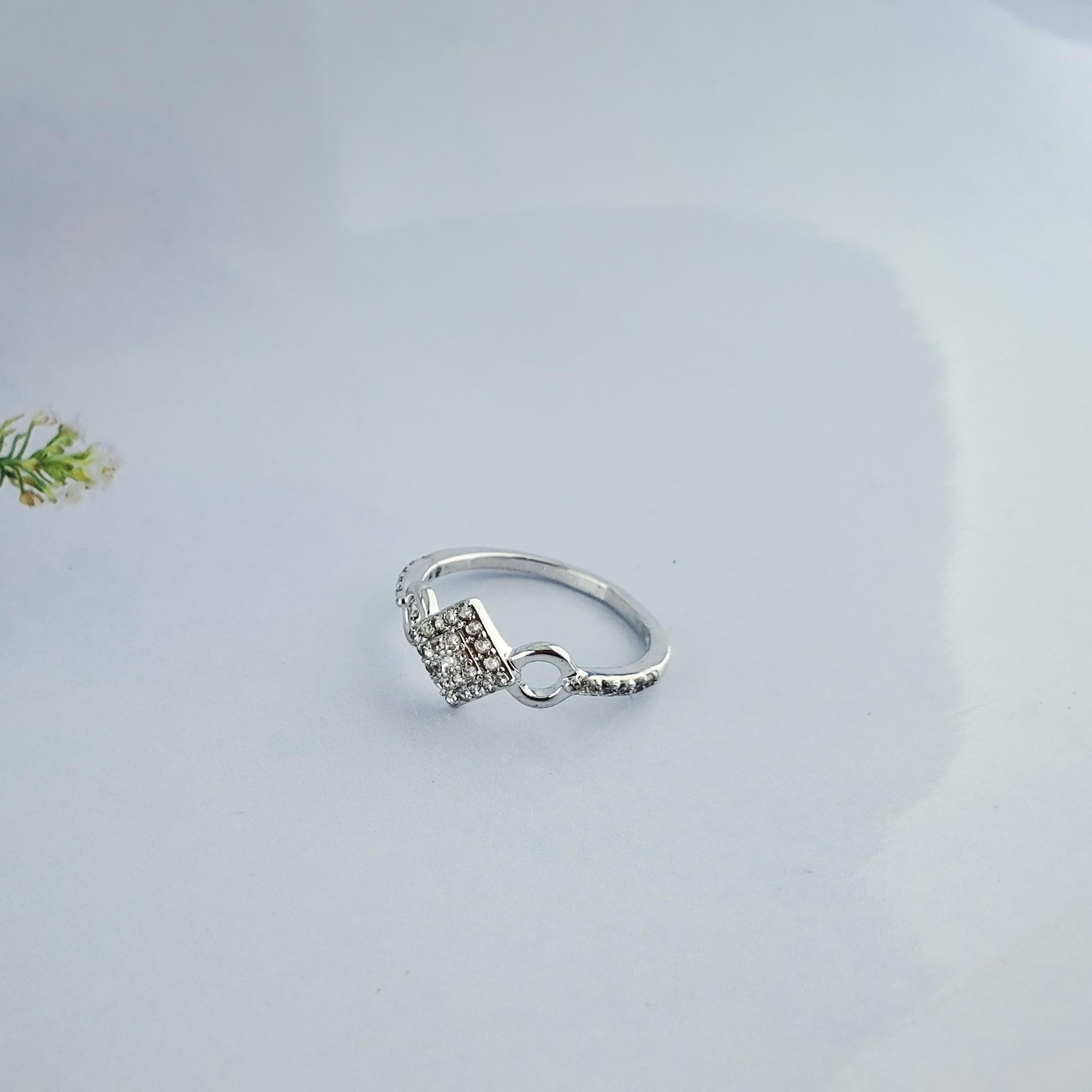 emhari cincin xuping silver motif permata- 77