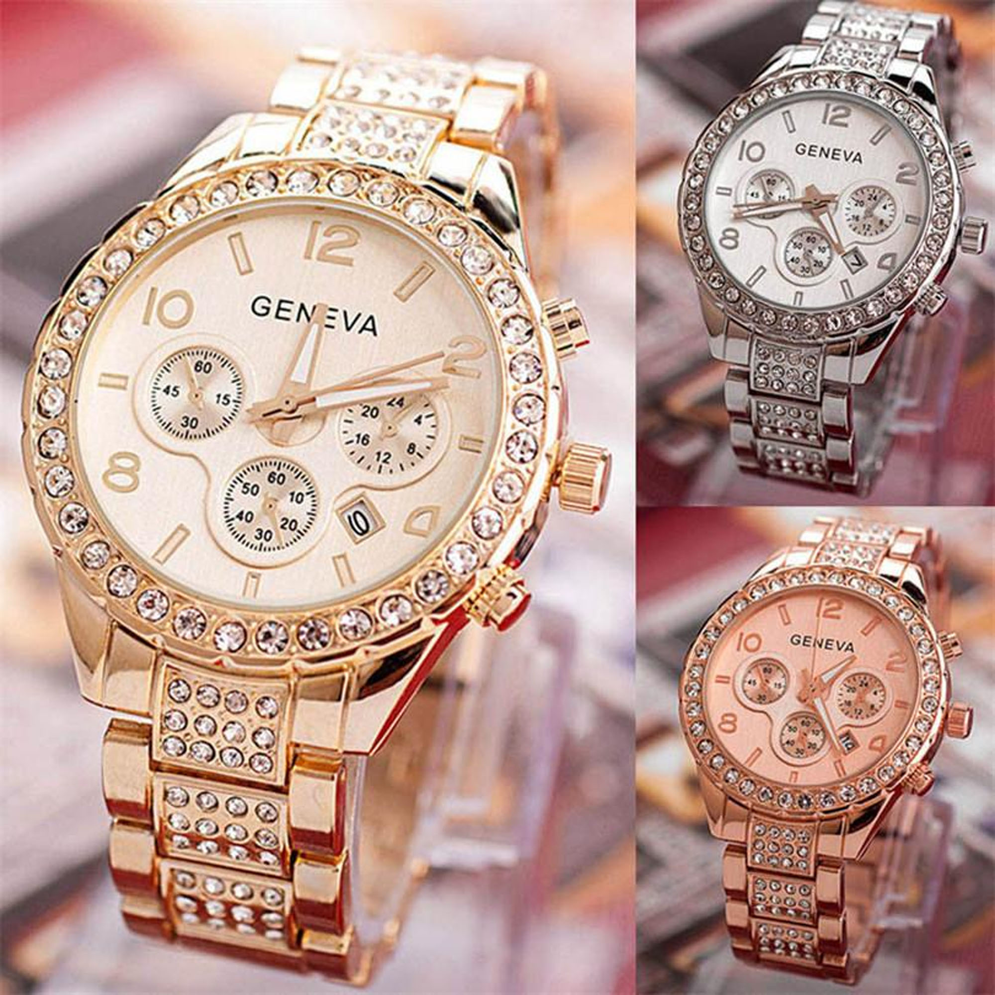 galery shop j8-cod- jam tangan wanita tahan air anti karat mewah diamond full quartz casual bahan stainless stell/jam tangan fashion wanita new arival /jam tangan korea korean style/jam tangan cantik