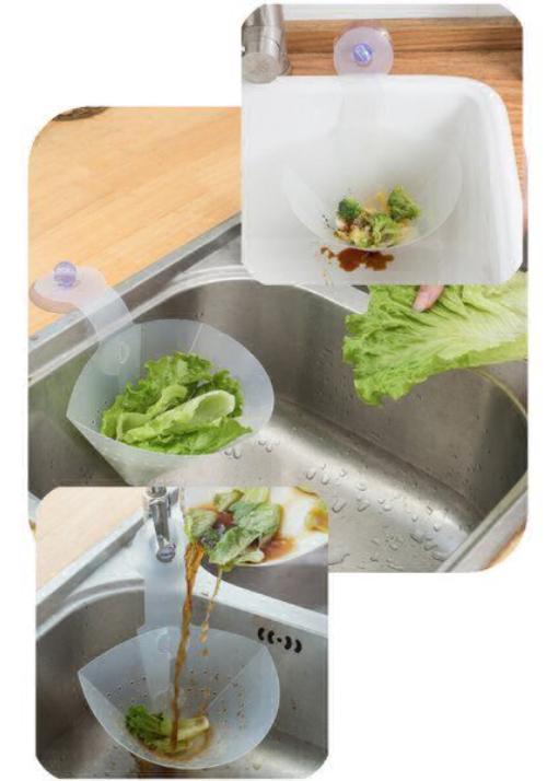 saringan dapur cuci sayur saringan sampah serba guna k054
