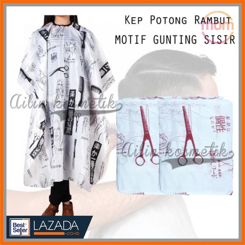 MOTIF  KEP POTONG MOTIF GUNTING SISIR - KEEP ALAS PANGKAS RAMBUT - Praktis  Anti e955a5c5d5