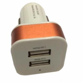 Car Charge/Charger Mobil USB 2in1 Output 5V-2.1 A
