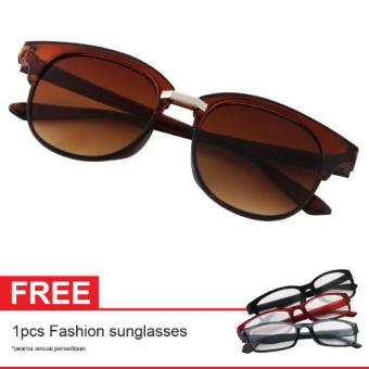 Cat Eye Retro Sunglasses CT MN5007 Brown