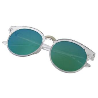 Cat Eye Sunglasses MN5010 Clear Blue - Kacamata wanita - Biru - Mirror -  Transparant 9bc7063134