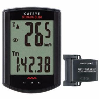 Cateye Cyclo Comp Cc-Rd310 Strada Slim Wireless - Hitam