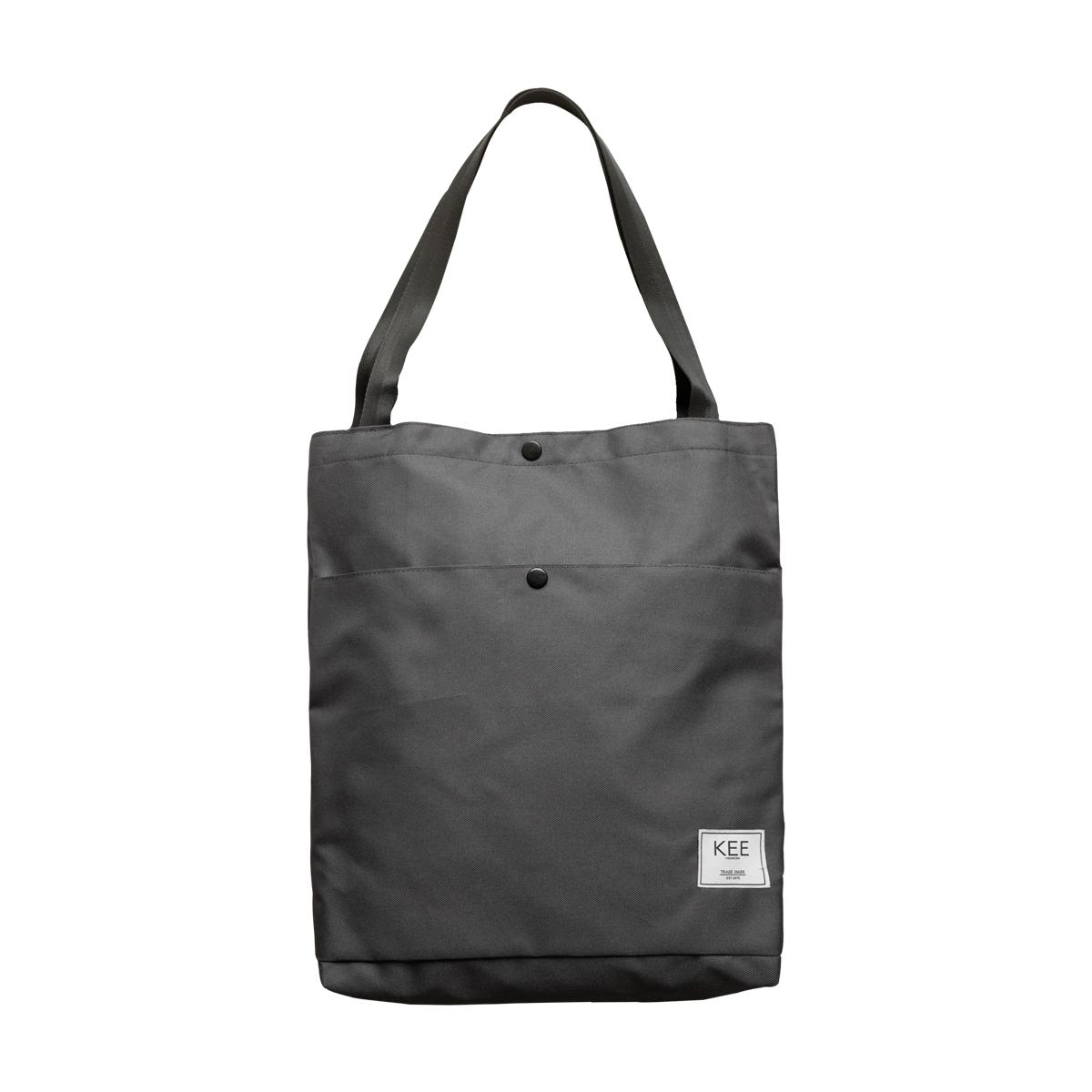 kee tas totebag lila edition dark grey tote bag premium