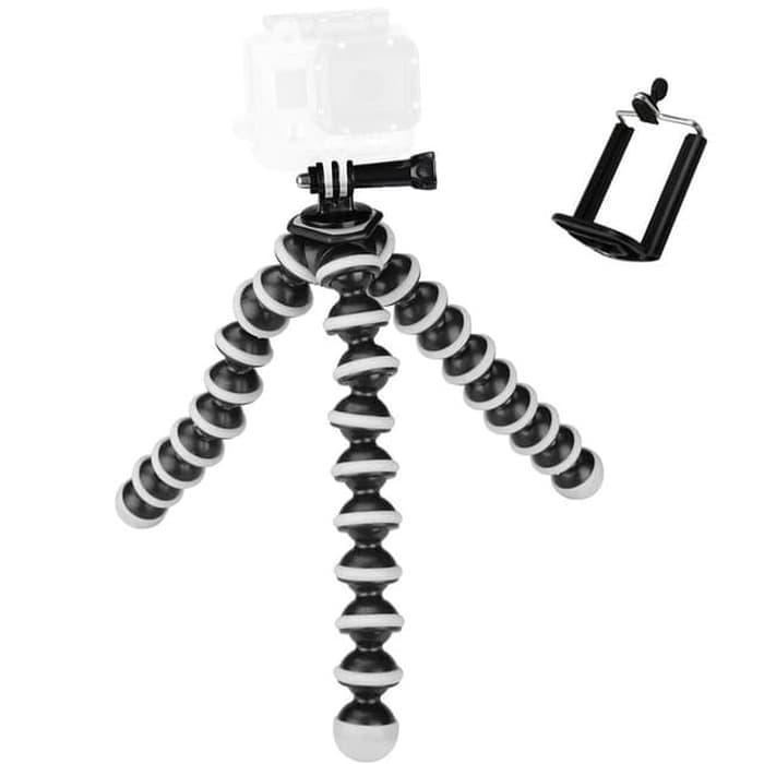 paling  gorilla pod / gorila tripod – tripod lentur fleksibel + free holder u | penyanggah hp | sthp | gurita handphone